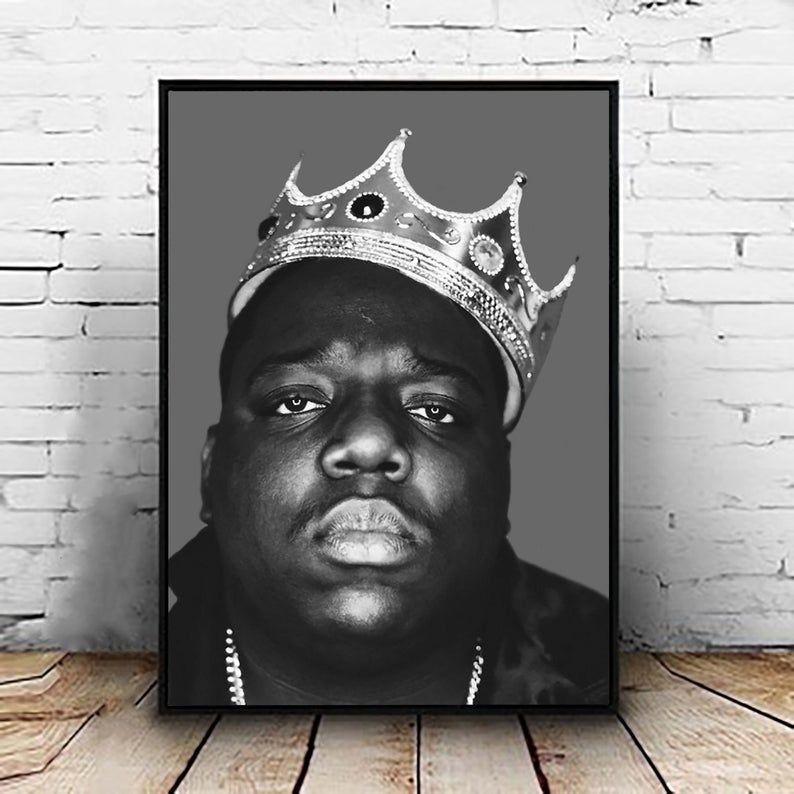 biggie smalls print poster notorious