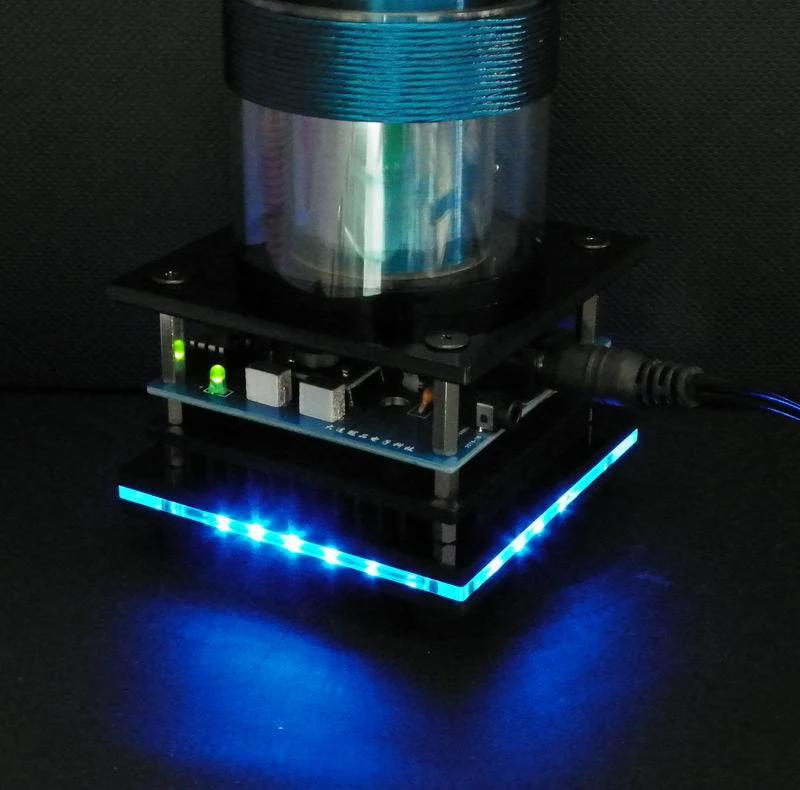 Music Tesla Coil Plasma Loudspeaker with Music Tesla Coil