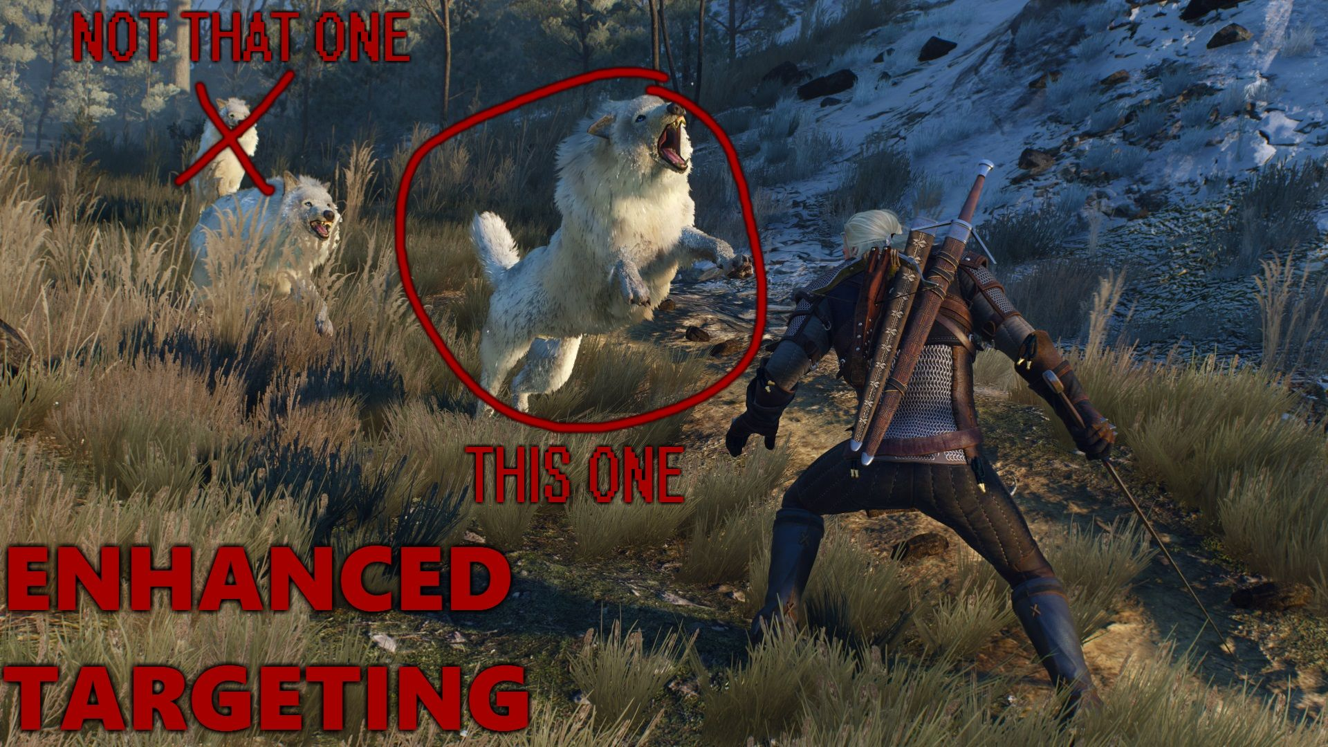 Enhanced Targeting at The Witcher 3 Nexus - Mods and