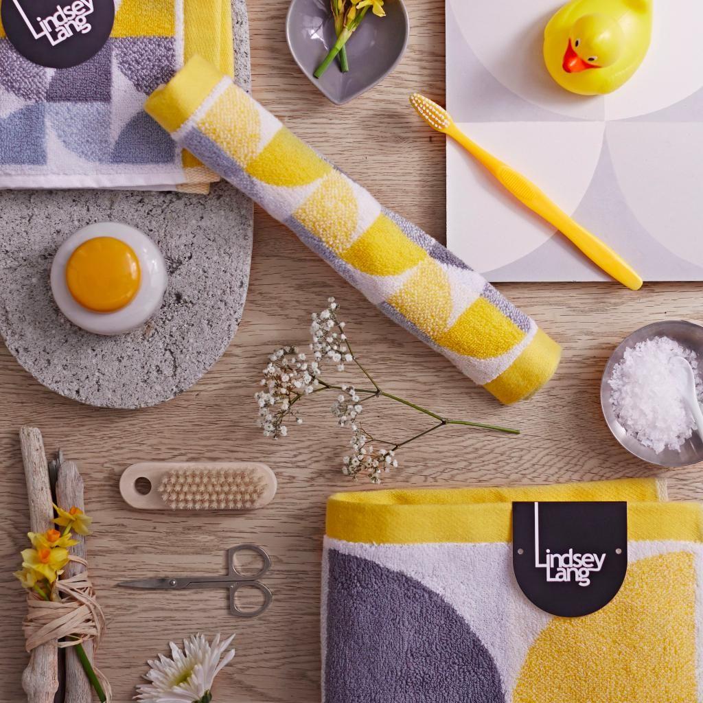 Lindsay Lang towel range for John Lewis Textile design