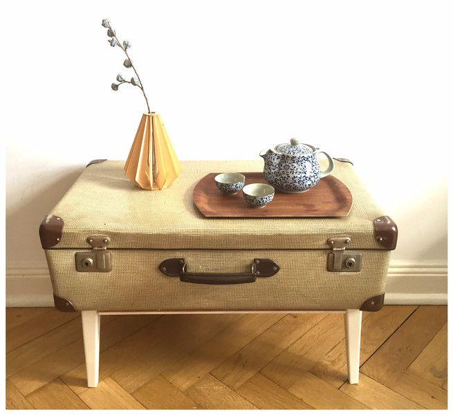 Vintage Tische Koffer Tisch Couchtisch Ein Designerstuck