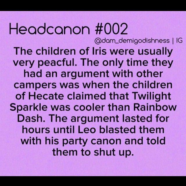 ... XD You can check out all of my other headcanons here: #demigodishheadcanons (please don't use this hashtag) #percyjacksonheadcanon #percyjackson ...