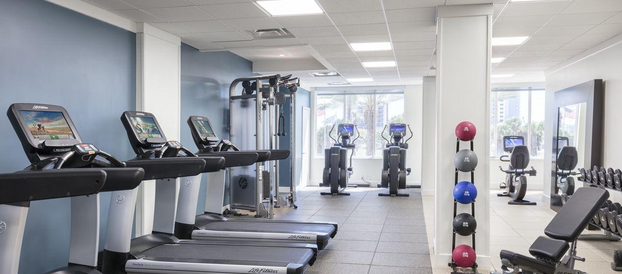 Hilton clearwater beach hotel fl fitness center