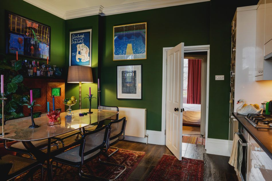 . London flat goes all in on color and whimsical decor   Good Dining