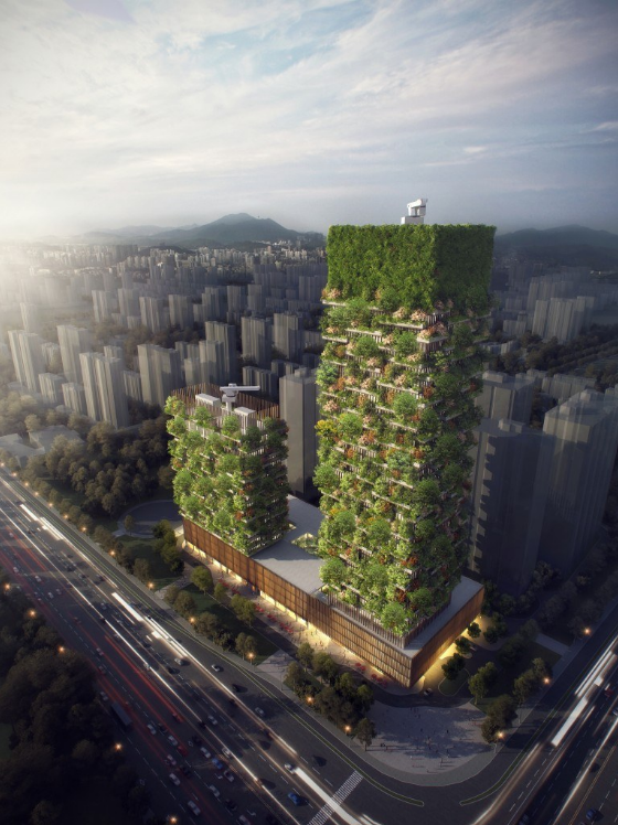 China is about to get its first vertical forest – World Economic Forum – Medium