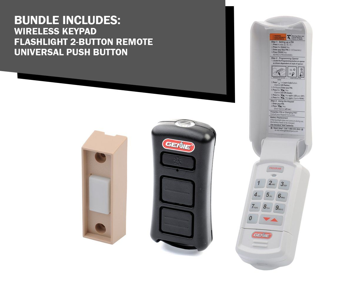 Gk R Keyless Entry Gl2t Bx Remote Universal Push Button Pack Garage Door Opener Keypad Garage Door Keypad Keyless Garage Door Opener
