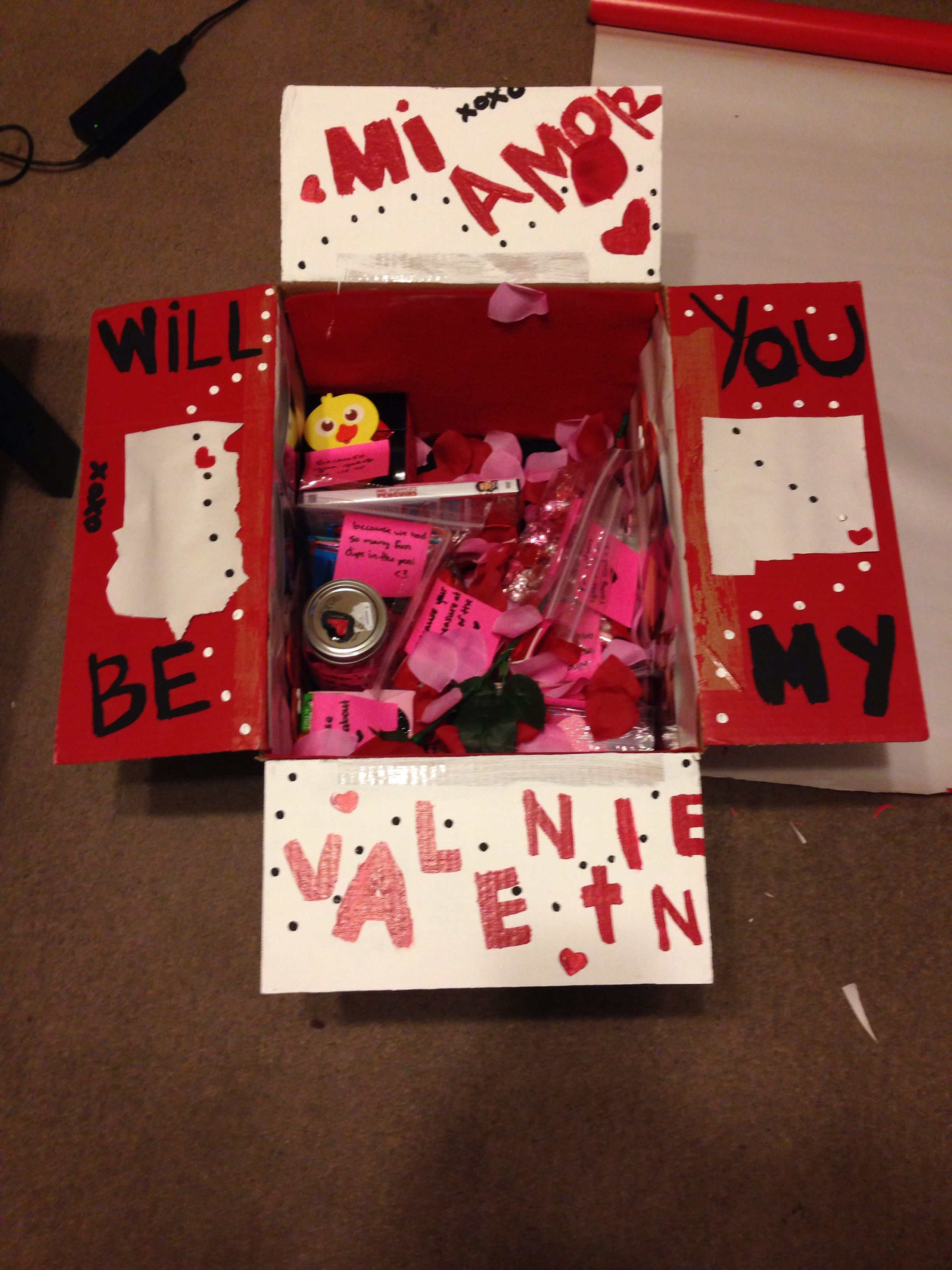 Valentines Care Package For Girlfriend Valentines Day Care Package Valentines Ideas For Her Birthday Care Packages