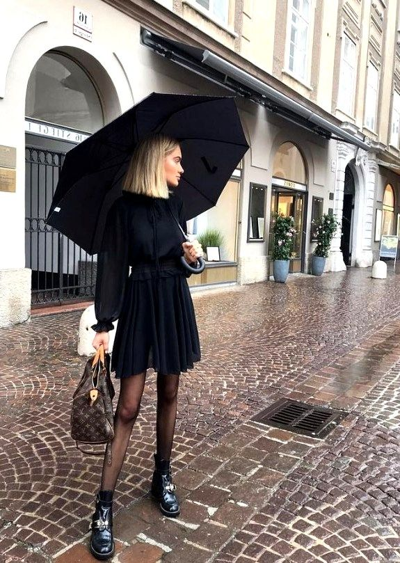 25 Pretty Rainy Day Style Outfits Ideas