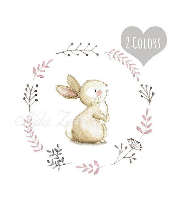 43+ Bunny prints for nursery trends