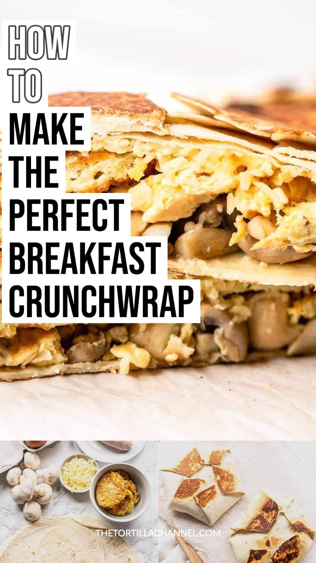 Breakfast crunchwrap recipe in 2020 breakfast