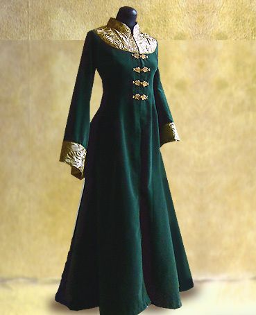 Cloaks Pagan Wicca Witch:  Green #coat.