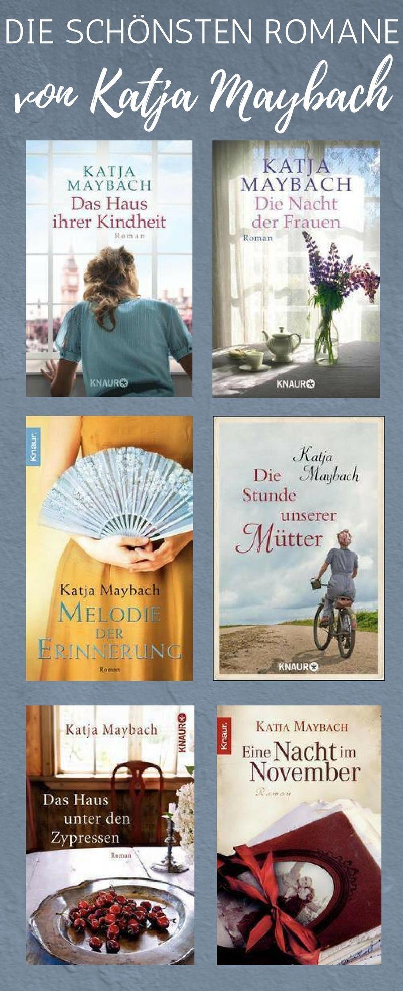 für eine kleine auszeit: die schönsten romane von katja maybach