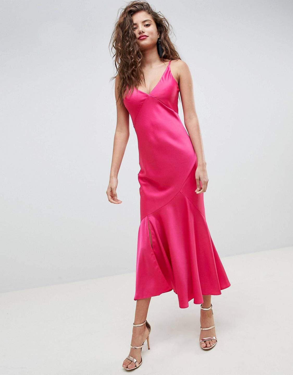 Design bias cut maxi slip dress in partay pinterest