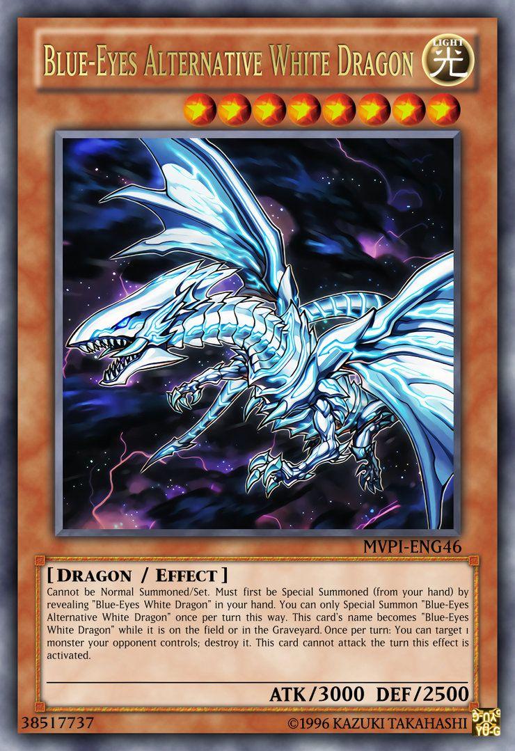 Blueeyes alternative white dragon by crimsonterror13