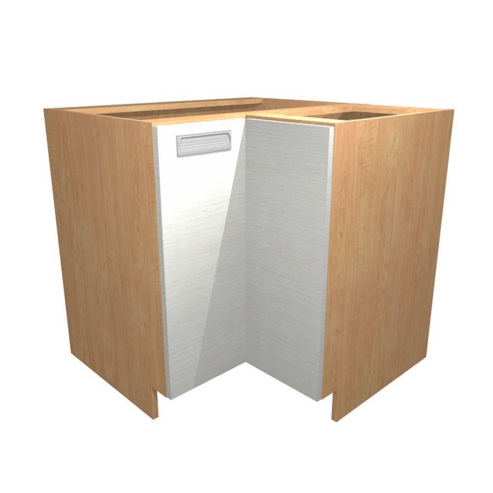 Corner base kitchen cabinet  xx in Genoa Easy Reach Base Corner Cabinet with  Doors in