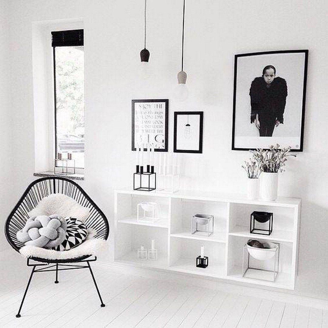 scandinavian design bedroom trends in shelving