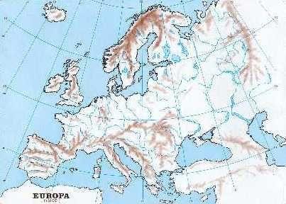 Mapa Fisico Europa Mudo.Mapa Fisico Europa Busca De Google Mapa Fisico De Europa