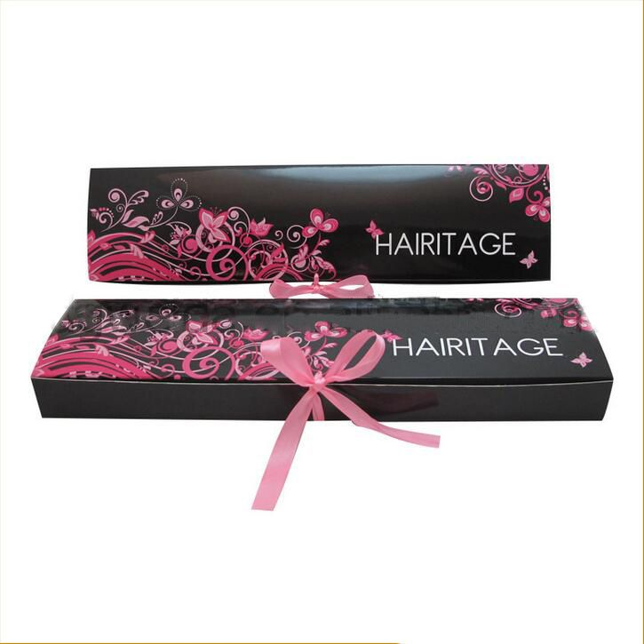 Custom Foldable Hair Extension Boxes Looks Good To Keep Hair