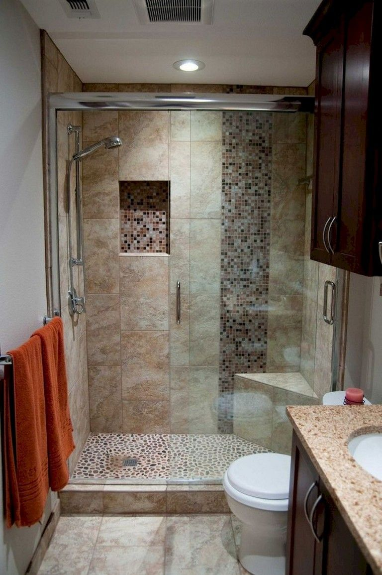 55 Beautiful Small Bathroom Ideas Remodel Inexpensive Bathroom Remodel Bathtub Remodel Small Shower Remodel