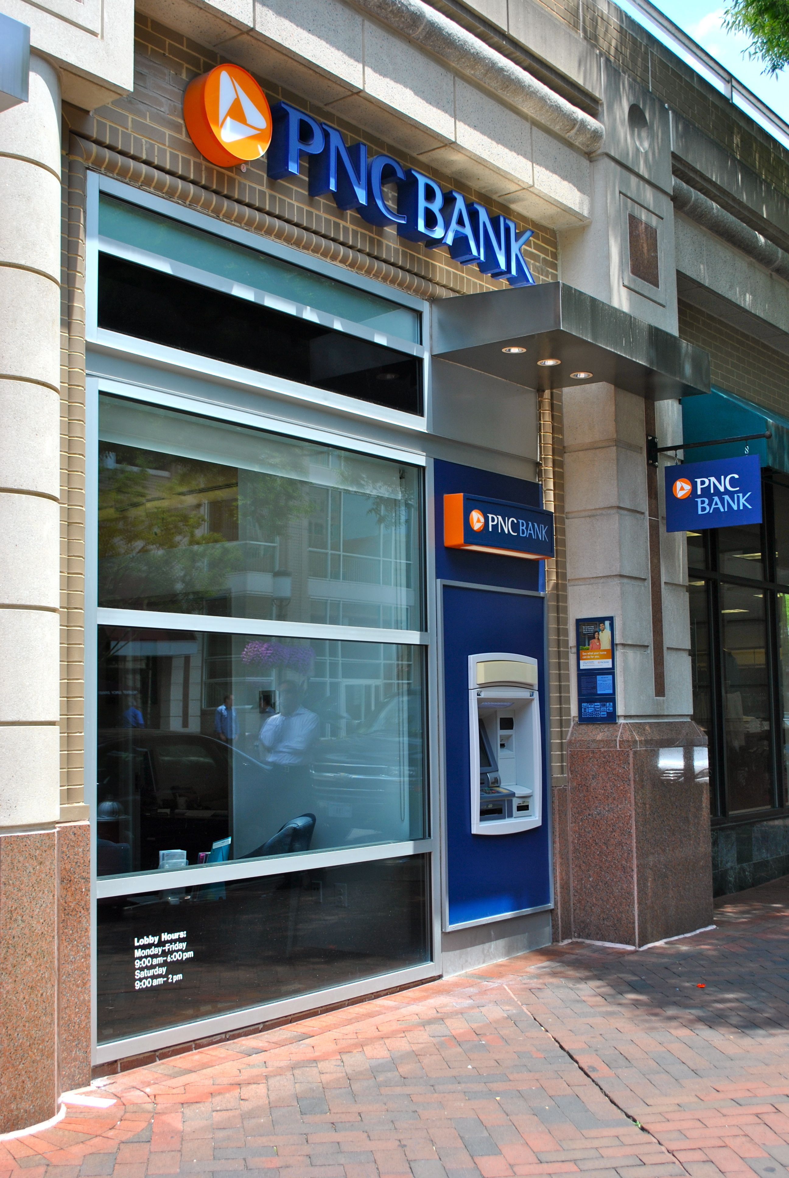 PNC Bank on Democracy Drive in Reston Town Center Reston