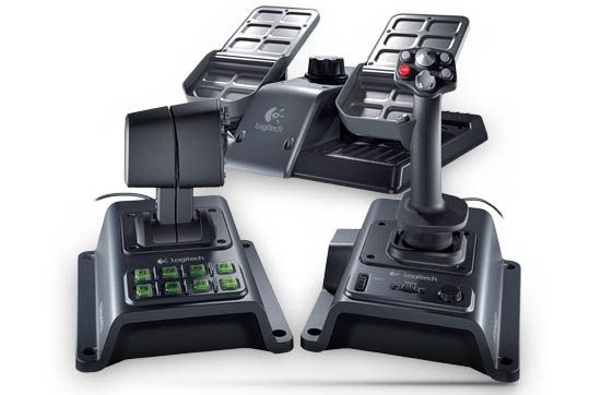 30 Awesome Gaming Devices For Pc Gamers Flight Simulator Joystick Logitech