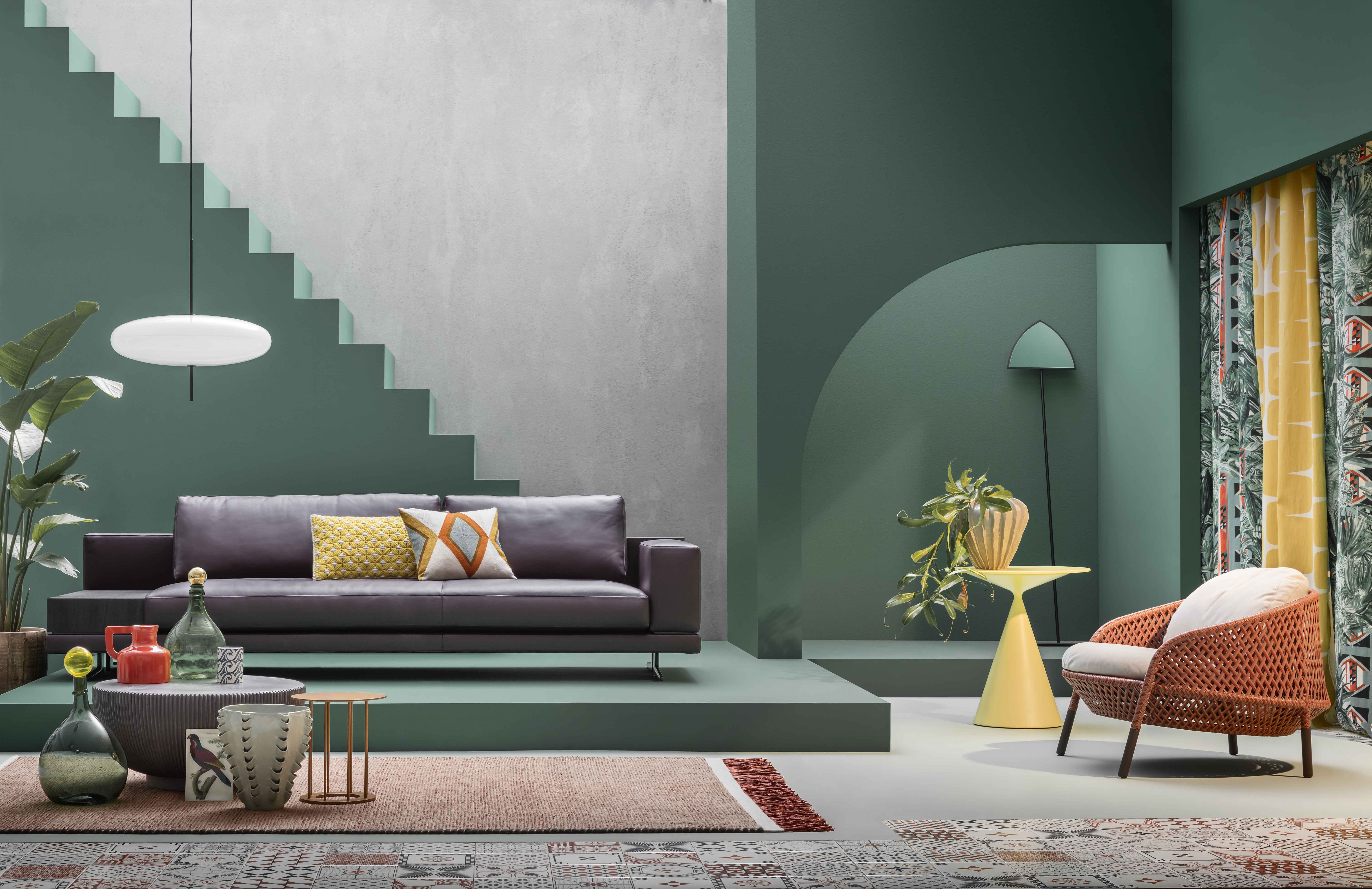 Living Corriere Della Sera Styling Studio Salaris Photo By Beppe