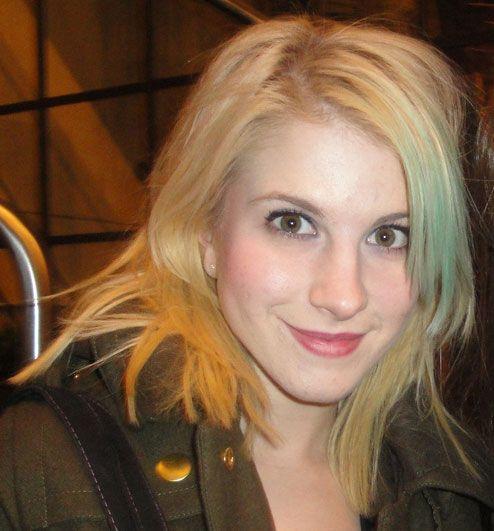 Hayley Williams Blonde And Orange Hair