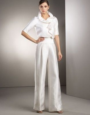 Dressy Wedding Pant Suits For Women