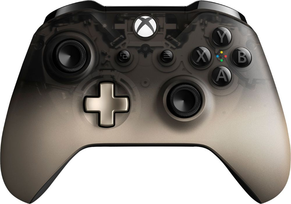 Microsoft Wireless Controller For Xbox One And Windows 10 Phantom Black Special Edition Wl3 00100 Best Buy Xbox Wireless Controller Xbox One Controller Xbox One