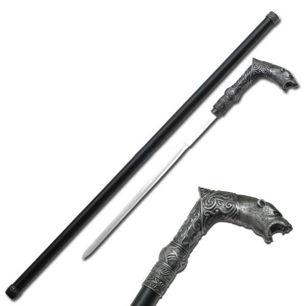 """COLD STEEL 91Was African Walking Stick 36 1//2/"""" OVERALL constructed of Solid"""