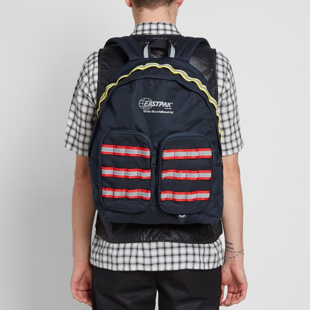 Eastpak X White Mountaineering Doubl R Backpack Backpacks Mens