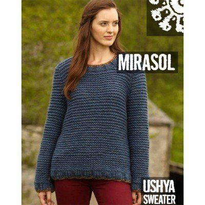 Check Out Mirasol Ushya Sweater Free At Webs Yarn Chunky