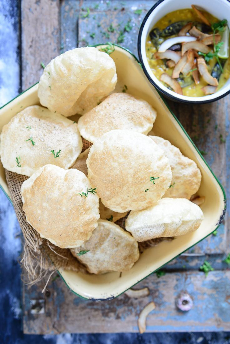 Bengali luchi recipe indian breads bread recipes and food forumfinder Image collections