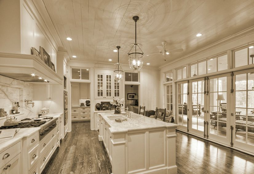 Like the kitchen to outdoor space