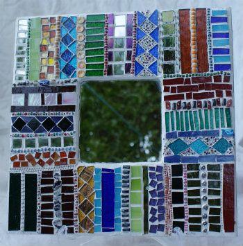 Stunning creation         #mosaic #mirror