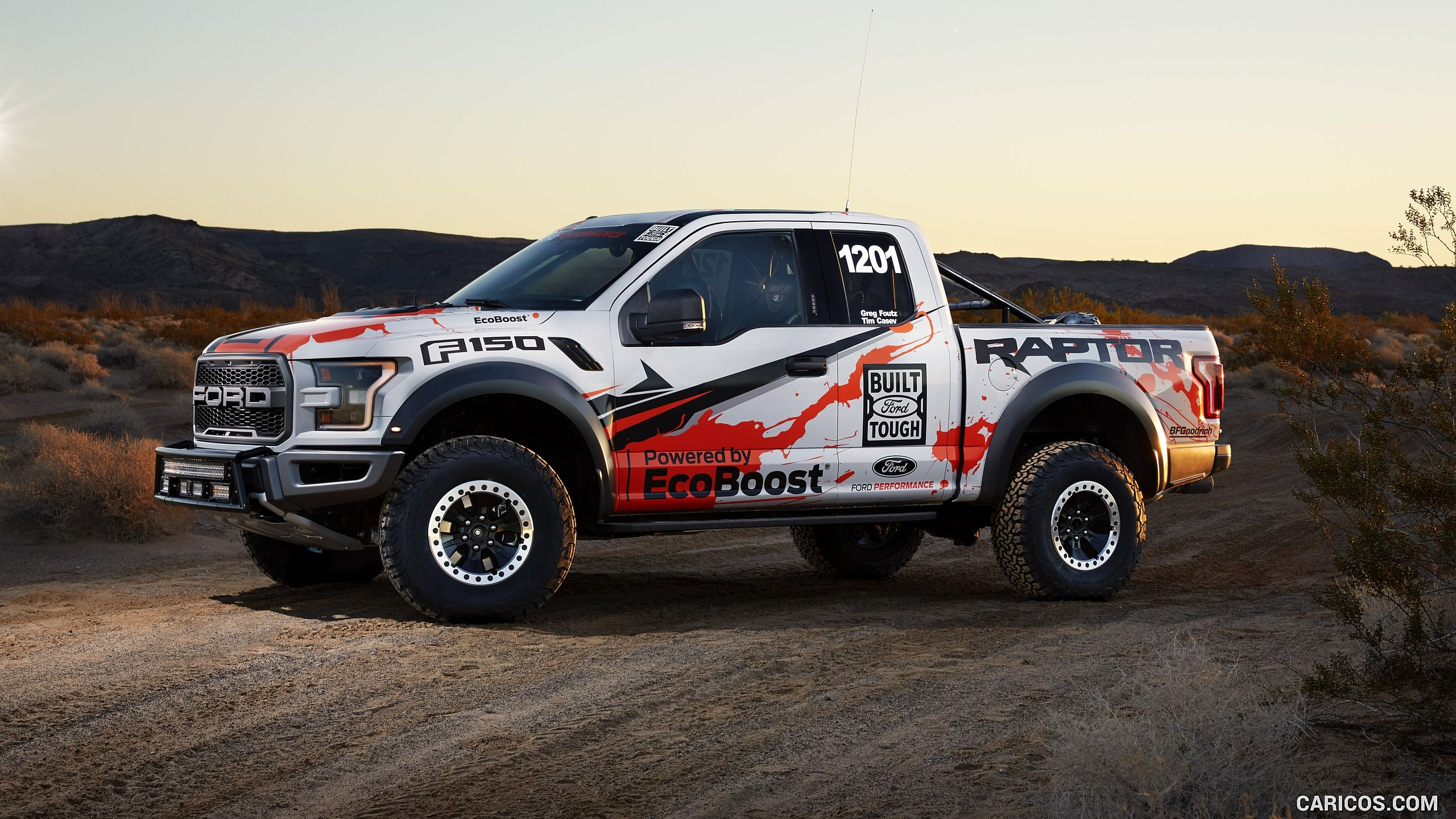2017 ford f 150 raptor race truck wallpaper