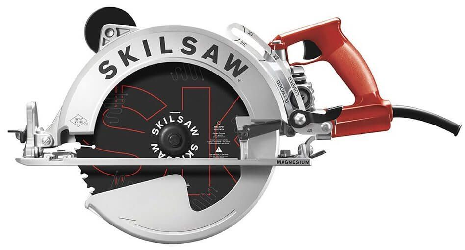 Skilsaw 15 Amp 10 1 4 Magnesium Sawsquatch Worm Drive Circular Saw Review Timber Frame Hq Skil Saw Worm Drive Circular Saw Circular Saw