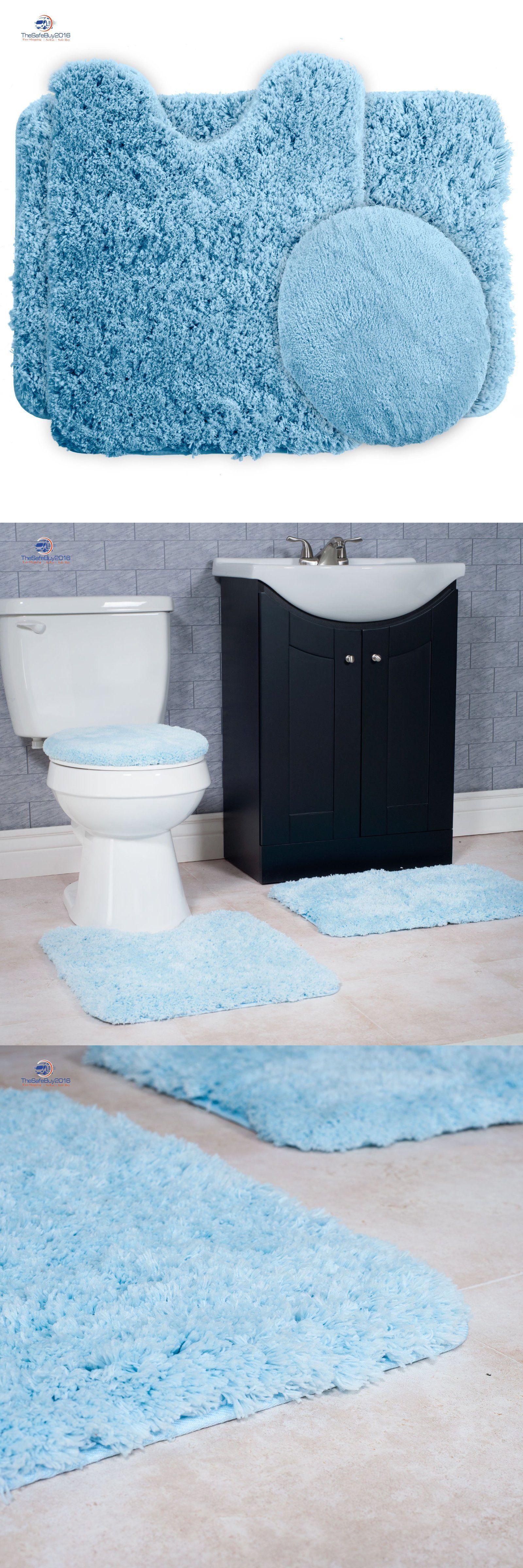 Bathmats Rugs and Toilet Covers 133696: Super Plush Non-Slip Bath ...