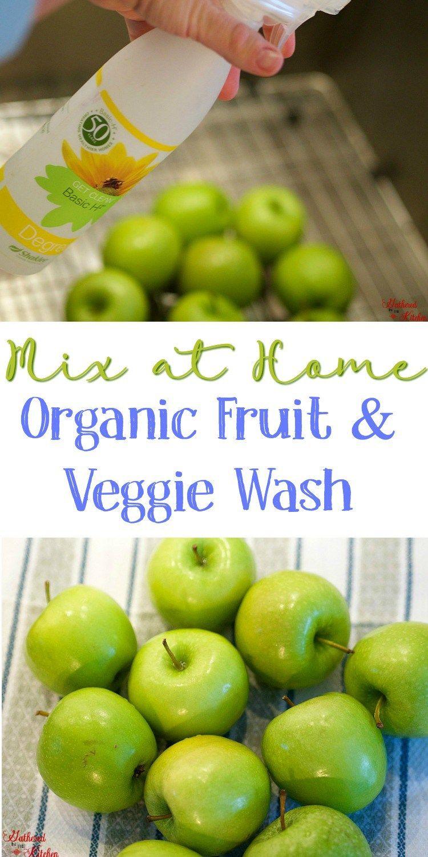 Shaklee Basic H Organic Fruit & Veggie Wash