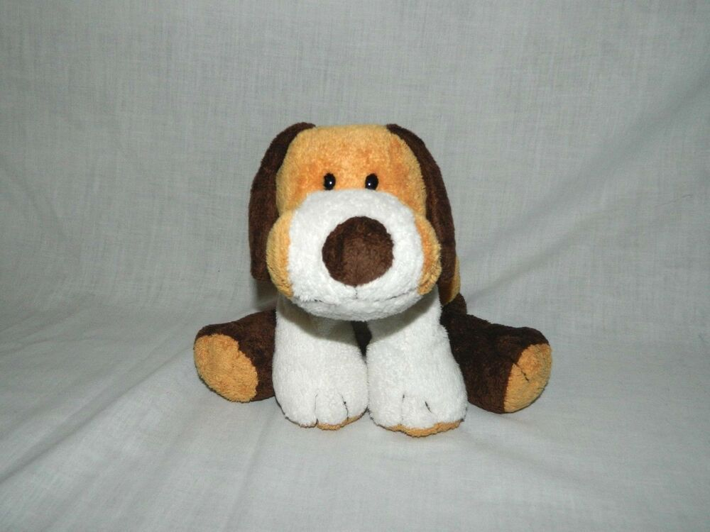 Ty Pluffies Whiffer Brown Tan Puppy Dog Beagle 2002 Plush 9