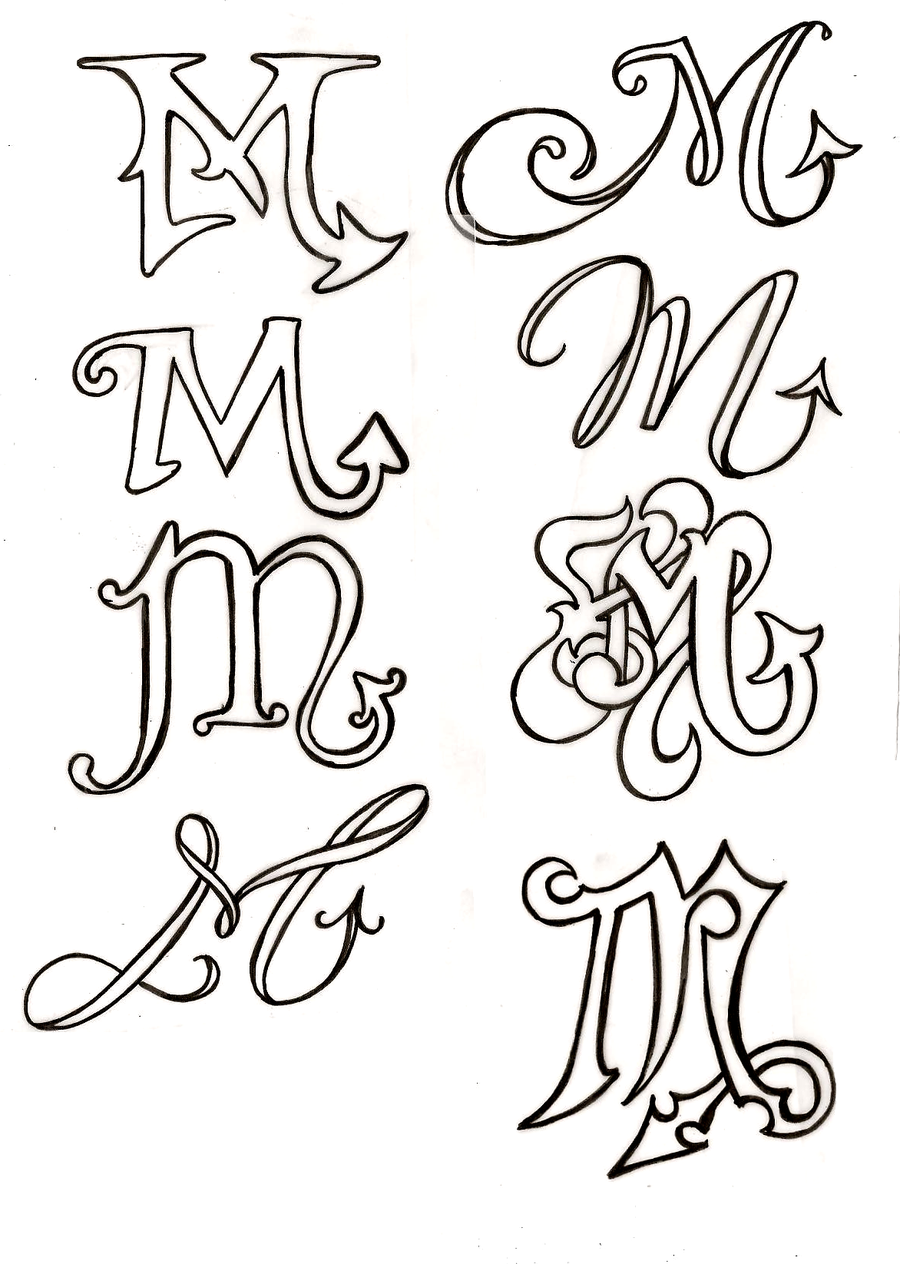 Scorpio Zodiac Symbol Tattoos by Metacharis.deviantart.com on @deviantART