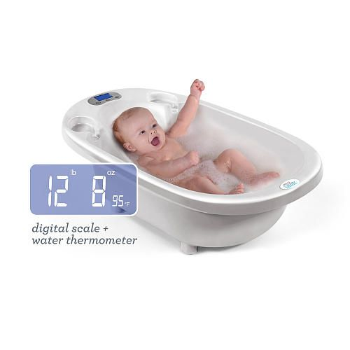 Aqua Scale 3-in-1 Infant Bathtub, Scale & Water Thermometer ...