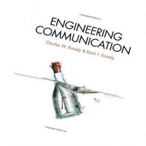 Solution Manual for Engineering Communication 1st Edition