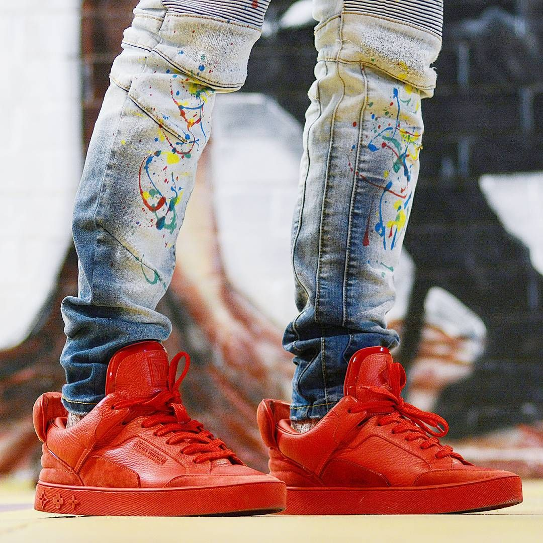 Kanye West X Louis Vuitton Don Triple Red Ropa Tenis Ropa