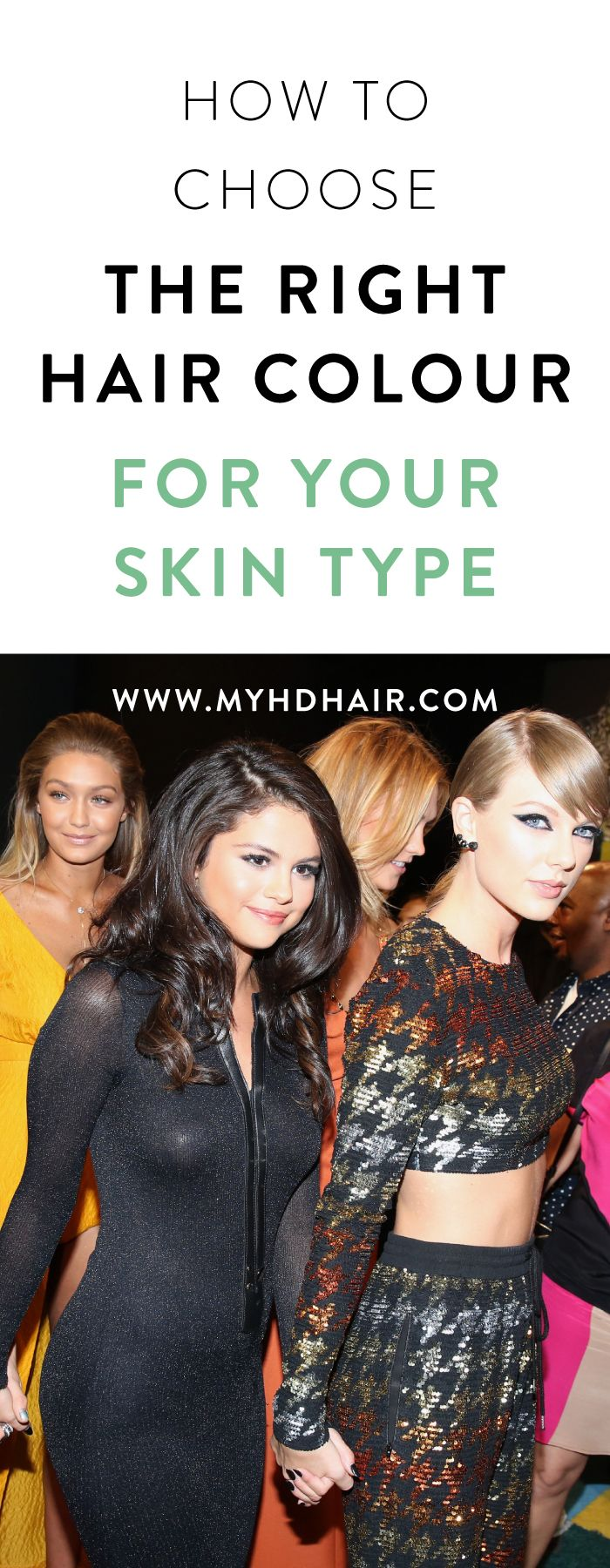 How To Choose The Right Hair Colour For Your Skin Tone Hair 101