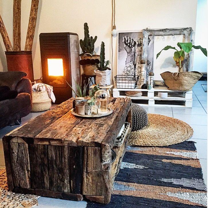 Wood wood wood Décoration Pinterest Salon, Idee deco et