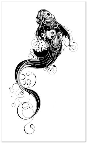 This would be such a cool tattoo si scott fish art for Si fish and more