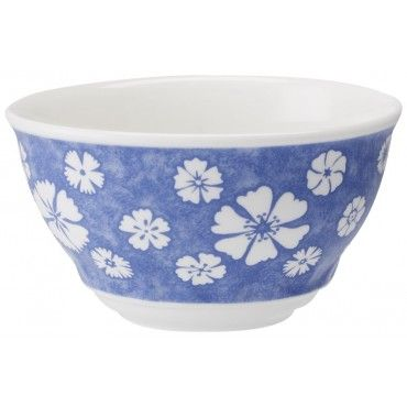 Farmhouse Touch Blueflowers Small Rice Bowl 5 inch $17.25