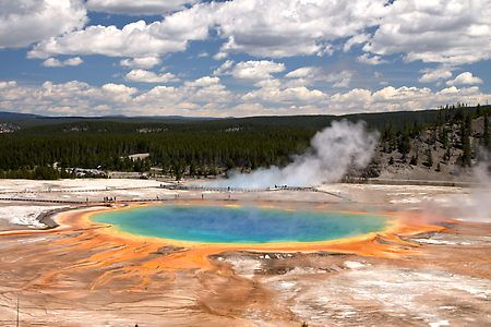Yellowstone National Park...it really looks like that!