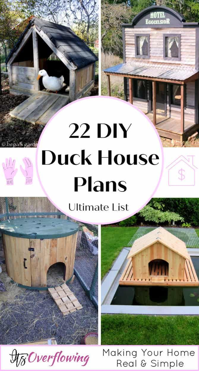22 Free DIY Duck House Plans with Detailed Instructions